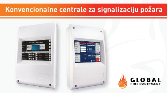 GFE konvencionalne centrale za signalizaciju požara